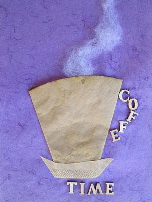 Coffee Time, 21 x 31, 2021
