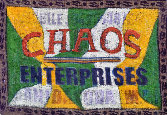 Chaos Enterprises  42 x 60   2017