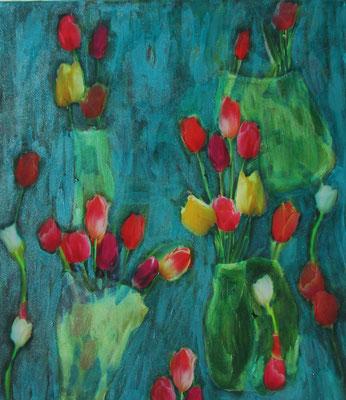 Tulpen  45 x 35  2020