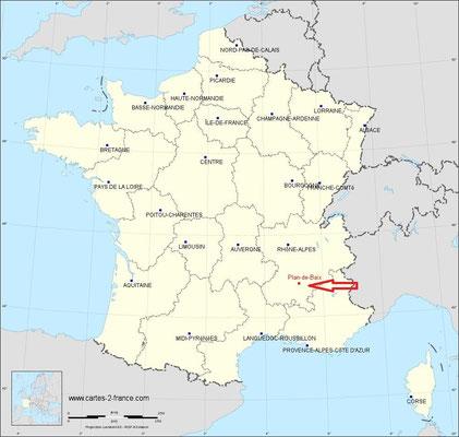 Vacances en France, direction la Drôme !