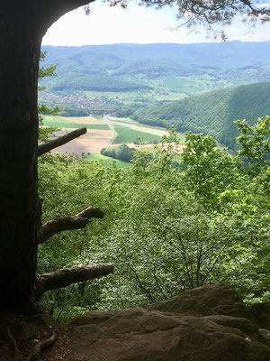 Blick ins Tal zur Werra, I.