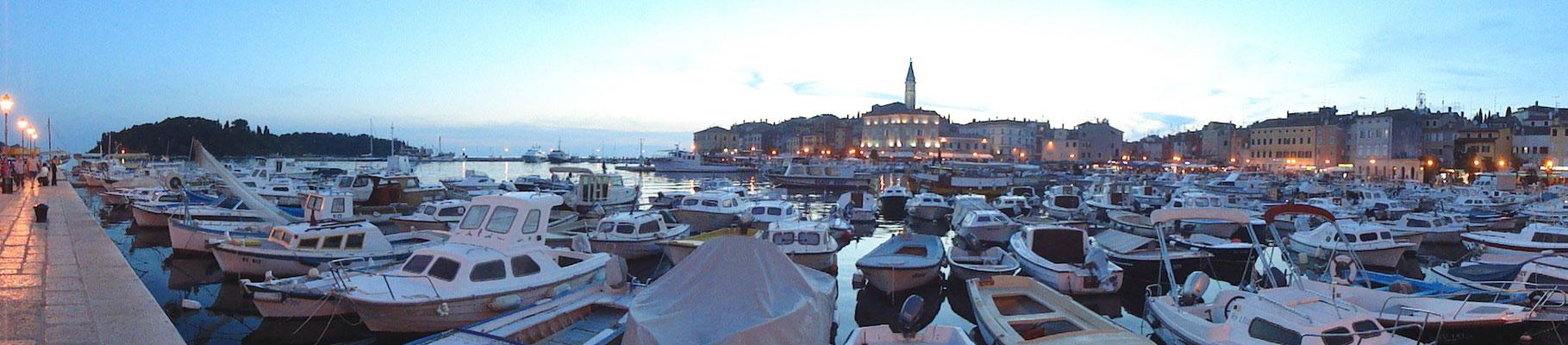 Rovinj, Istrien, Kroatien.