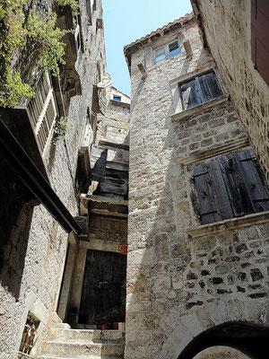 Trogir (noch kein Bestandteil des Buches, da später besucht).