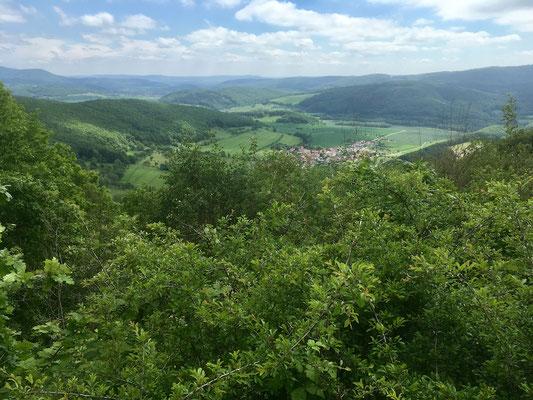 Blick ins Tal zur Werra, IV.