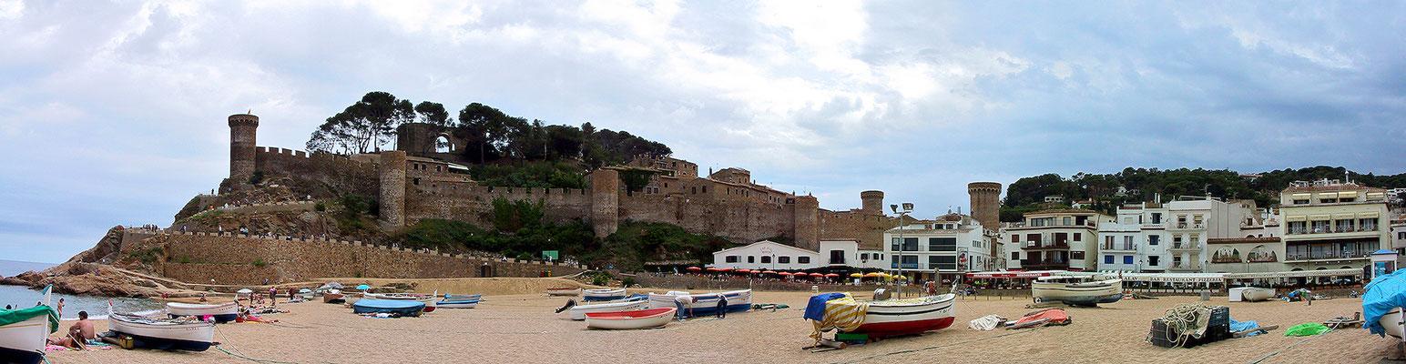 Tossa del mar, Spanien.