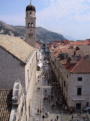 Dubrovnik. Hauptpromenade.