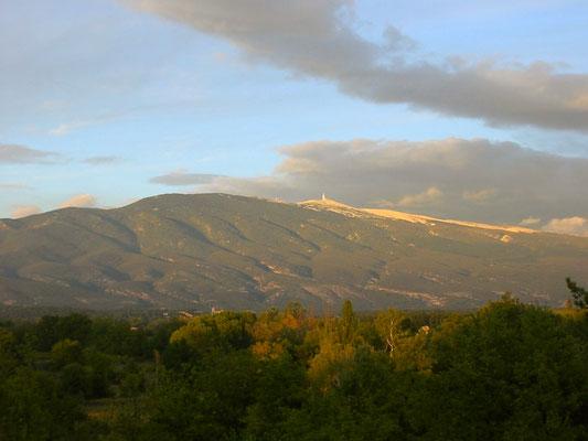 Blick auf den Mount Verdoux direkt aus Avignon.