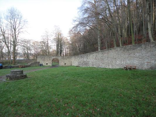 Anlage der Burg Hardenstein.