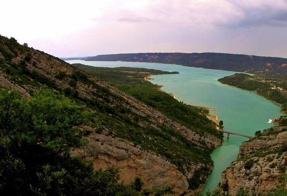 Lac de Sainte-Croix.