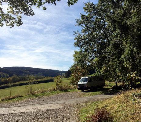 Buslife im Sauerland: Wandern, Entspannen, Relaxen, Leben. Am liebsten im Herbst.
