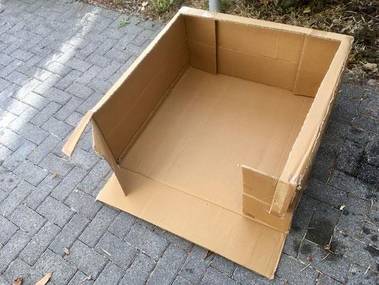 2. Lackkabine bauen.