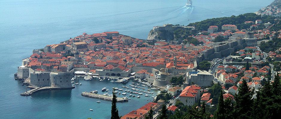 Dubrovnik. Was ein Blick!