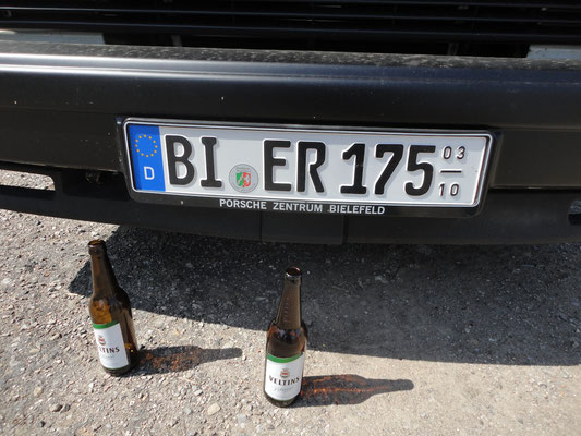 VW Bier-Impressionen.