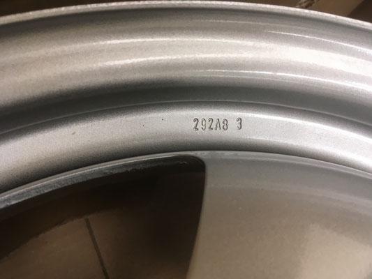 Stahlfelge im Detail. VW Nummern.
