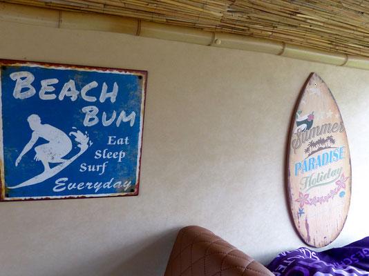 Surferbus von innen, III.