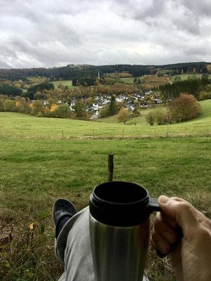 Herrlich der Kaffee danach oder auch morgens.