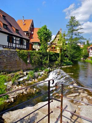Kaysersberg im Elsass.