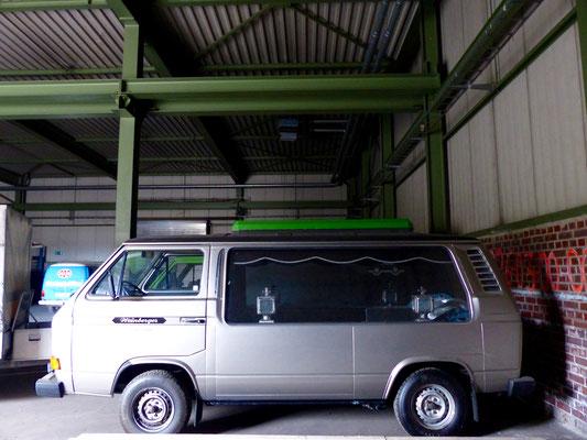 Selten: T3 Bestattungswagen