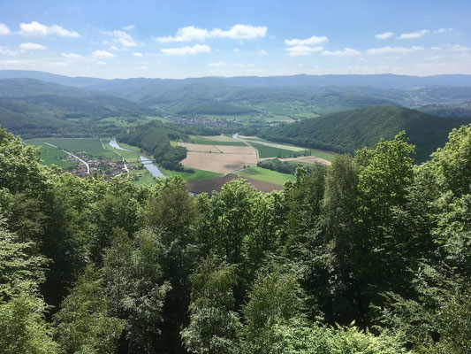Blick ins Tal zur Werra, III.