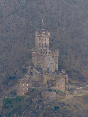 Und wieder: Burg Rheinstein. Oder Burg Sooneck. Oder eine andere. Da verlierst Du schnell den Überblick als Auswärtiger.