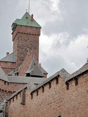 Die Königsburg im Elsass. Sehr imposant.