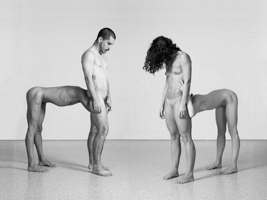 Dem Menschen ein Wolf by Saeed Hani - Photo: Bert van Pelt