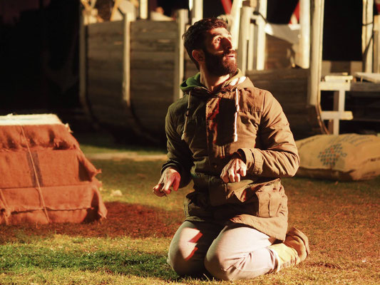 Odyssee - Director: Stefan Bastians - Choreography: Saeed Hani - Photo by Uli Schmidt