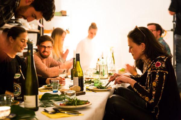 Kuhn und Kress kochen krass- Improkochabend im Januar 2018