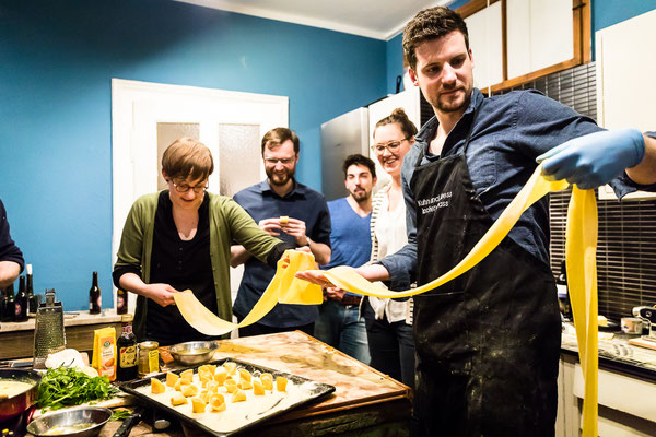 Pasta Paradise mit Kuhn (und Kress)