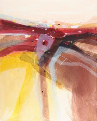 Herbstwind, Öl auf Leinwand, 120 x 95 cm