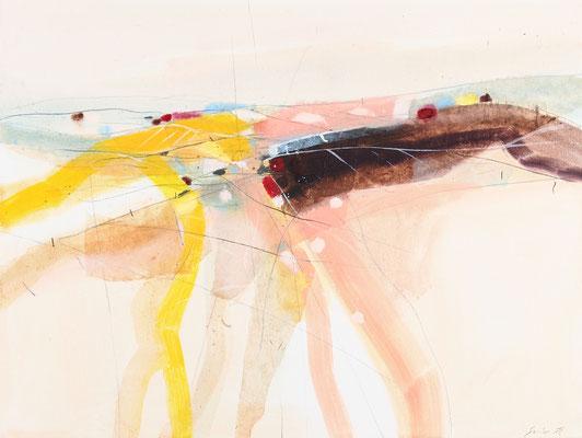 Wege, Öl auf Leinwand, 60 x 80 cm