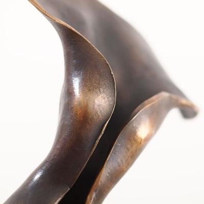 Ein Hauch, Bronze, Unikat, H=48 cm