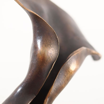 Ein Hauch, Bronze, Unikat, H=48 cm, € 1.600,-