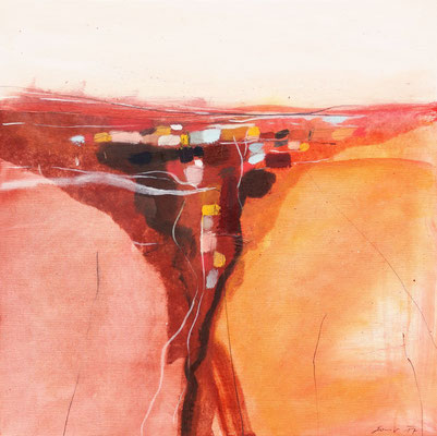 Herbst, Öl auf Leinwand, 50 x 50 cm, € 890,-
