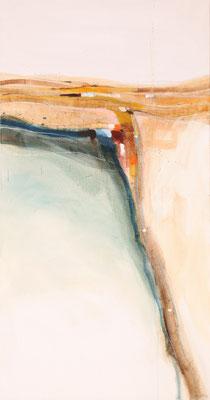 Feldweg, Öl auf Leinwand, 170 x 90 cm, € 3.300,-