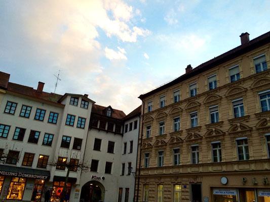 レーゲンスブルク・夕闇の旧市街