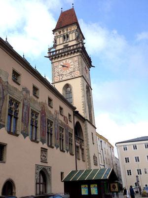 パッサウ・旧市庁舎