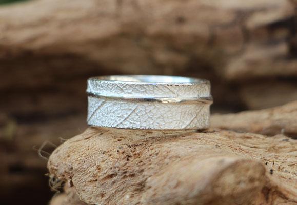 Ring Salbeiblatt, 925/- Silber, €85,-