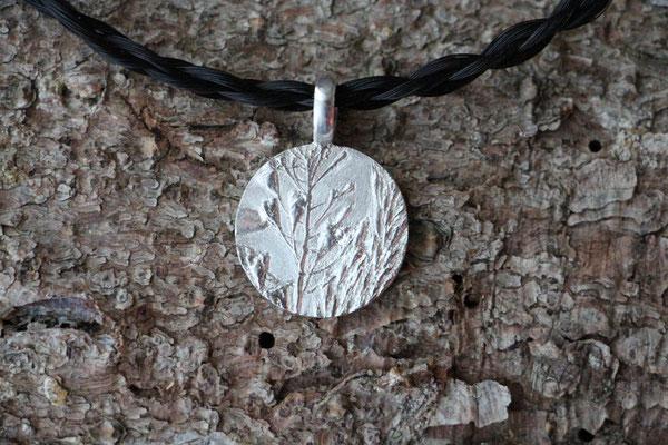 Anhänger Capsella bursa-pastoris, 925/- Silber, €125,-