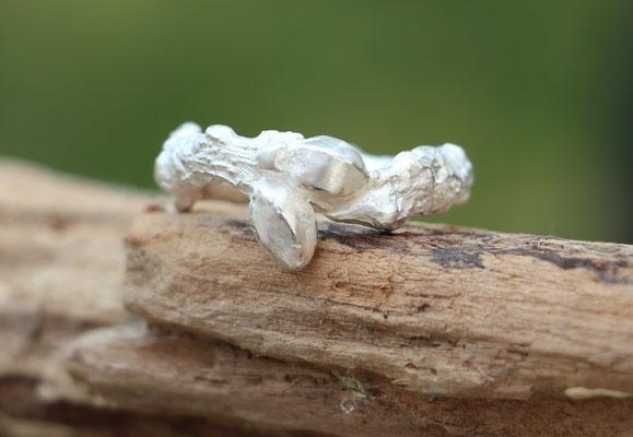 Ring Eichenast, 925/- Silber, €85,-