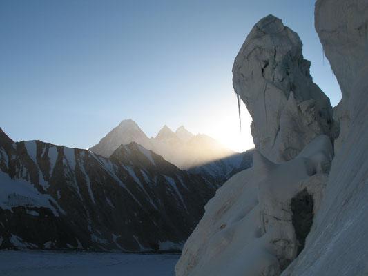 Morgenlicht am Gondogoropass