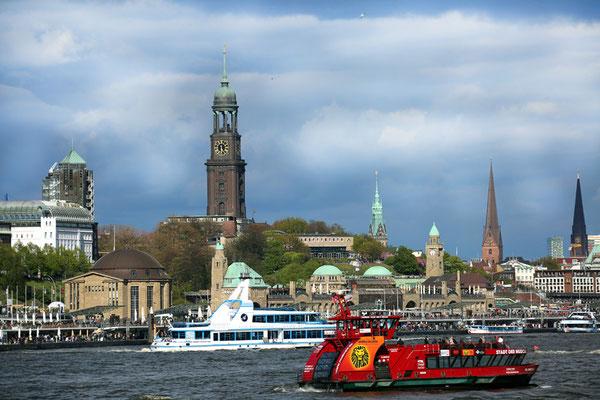 ein Blick auf Hamburg