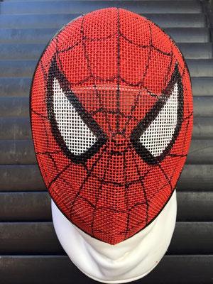 Careta de Spiderman para Alex Monroy
