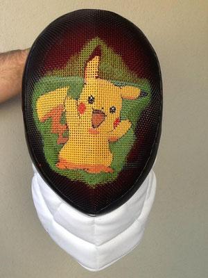 Careta de Pikachu para Noelia