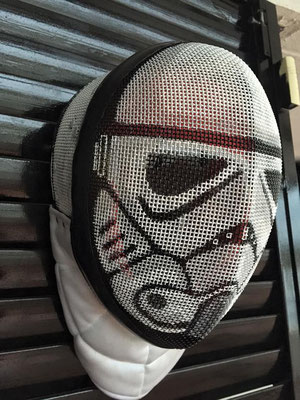 Careta personaliza para Marcos, Stormtrooper de la Guerra de las Galaxias