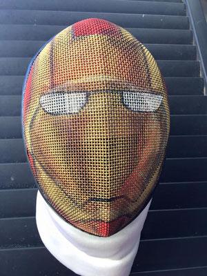 Careta de Iron Man para José Andrés