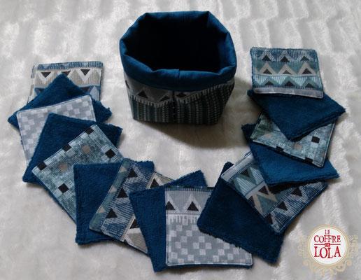 004 - Kit 15 Lingettes Formes Géométriques