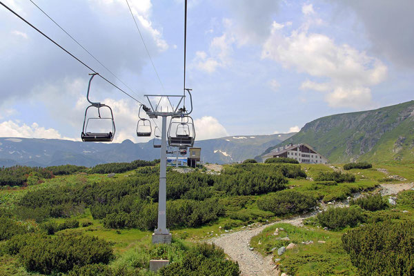 Chair Lift to the Seven Rila Lakes