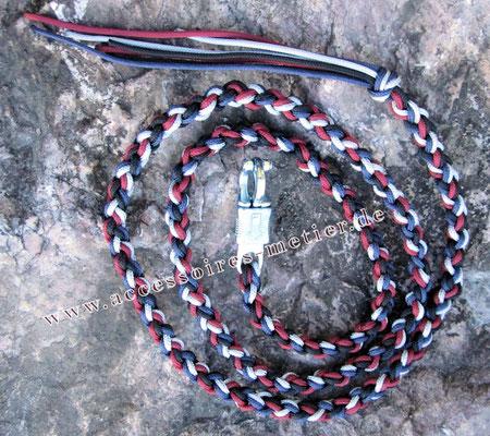Führstrick geflochten Accessoires für Mensch und Tier