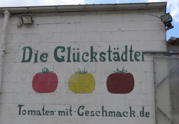 Tomaten Wandgemälde